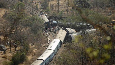 Indie - Zderzenie pociągów 3