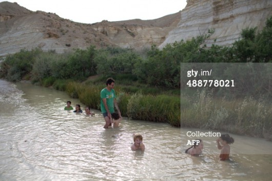 Izrael - Powódź na pustyni