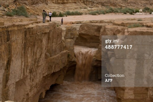 Izrael - Powódź na pustyni2