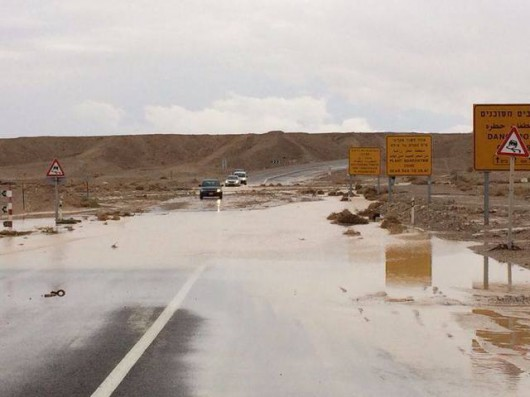Izrael - Ulewne deszcze 2