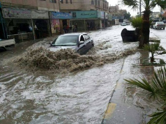 Izrael - Ulewne deszcze 4