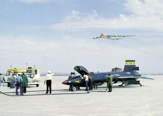 Każdy lot X-15 był wielkim przedsięwzięciem
