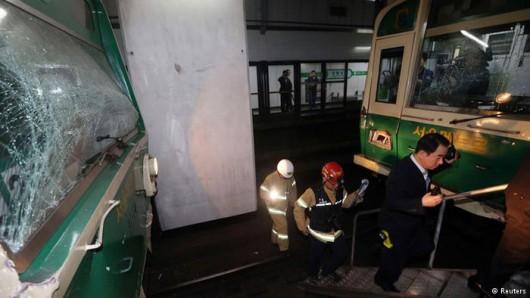 Korea Południowa - W Seulu zderzyły się dwa pociągi metra, rannych zostało 170 osób