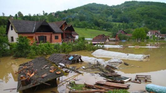 Największe w historii powodzie w Bośni i Serbii
