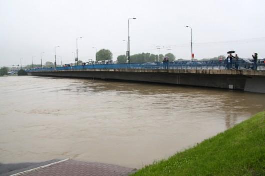 Polska - Pogotowie powodziowe w Krakowie