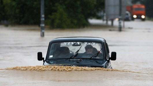 Powódź - Słowacja