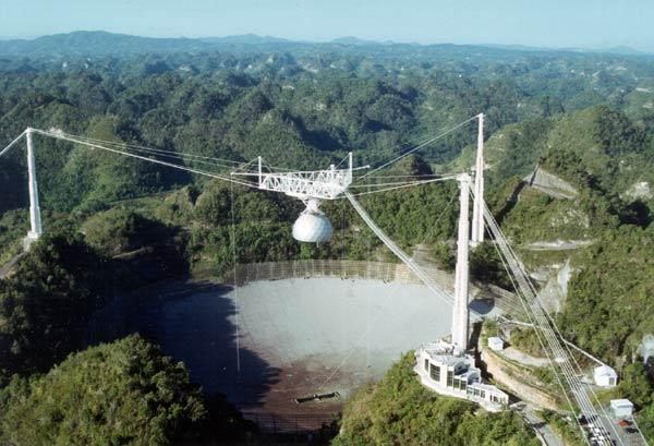 Radioteleskop w Puerto Rico