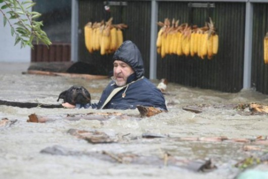 Rumunia - Powódź