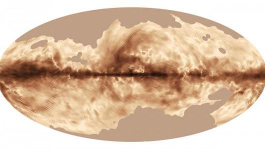 Struktura pola magnetycznego Drogi Mlecznej