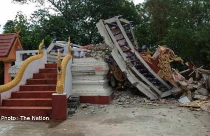 Tajlandia - Zniszczenia 2