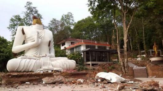 Tajlandia - Zniszczenia 3