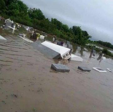 USA - Ulewny deszcz w Luizjanie 1