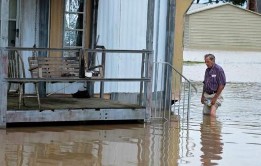 USA - Ulewny deszcz w Luizjanie 4