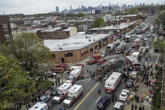 USA - W Queens wykoleiło się metro 1