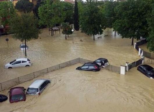Włochy - Powódź5