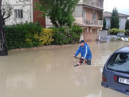 Włochy - Powódź6