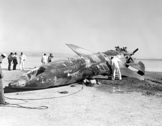 X-15, egzemplarz nr.2 po katastrofie Johna McKaya
