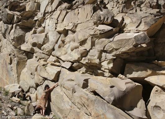 Kamienne kule w górach Czeczenii
