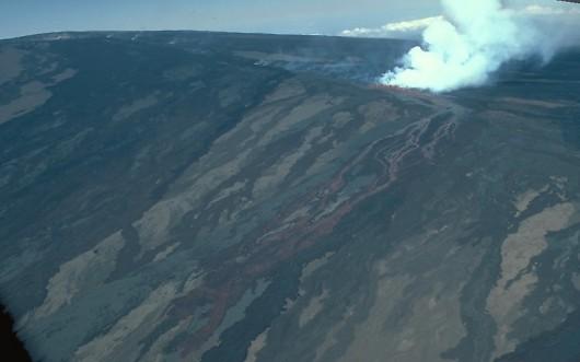 Aktywność sejsmiczna Mauna Loa w 1984 roku