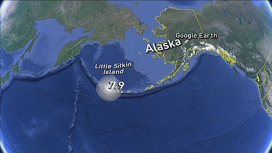 Alaska, USA - Bardzo silne trzęsienie w Archipelagu Aleutów