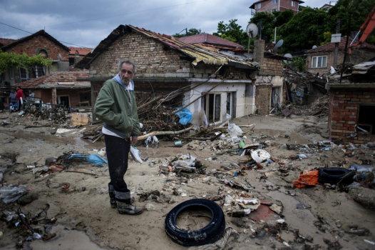 Bułgaria - Ogromna ulewa nad Warna 11