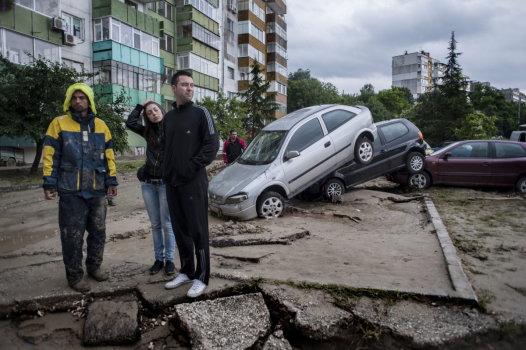 Bułgaria - Ogromna ulewa nad Warna 14