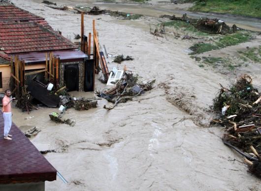 Bułgaria - Ogromna ulewa nad Warna 4