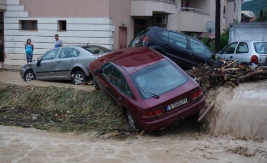 Bułgaria - Ogromna ulewa nad Warna 5