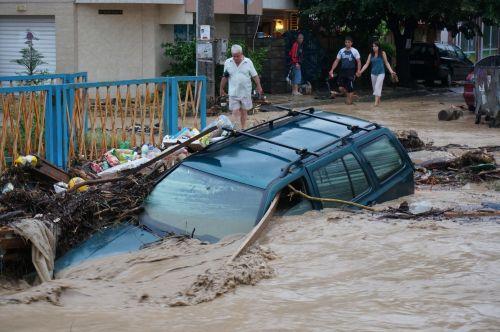 Bułgaria - Ogromna ulewa nad Warna 6