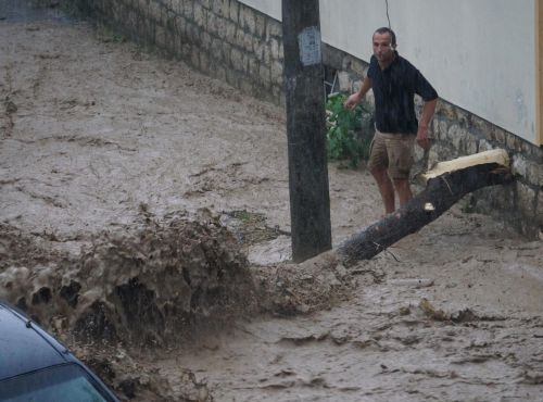 Bułgaria - Ogromna ulewa nad Warna 7