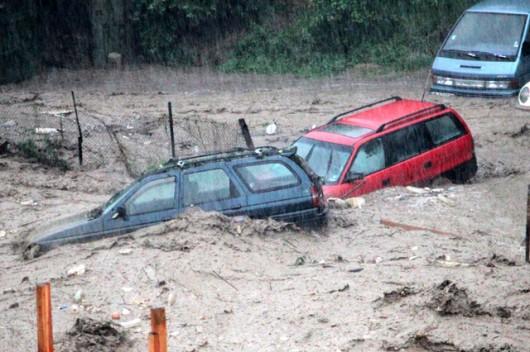 Bułgaria - Ogromna ulewa nad Warna 8