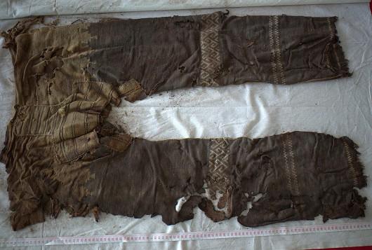 Chiny - Spodnie sprzed 3.3 tys lat