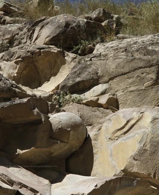 Czeczenia - Kamienne kule 6