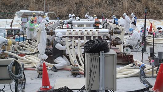 Fukushima, Japonia - Rozpoczęto budowę podziemnej bariery ze zmrożonej gleby 2