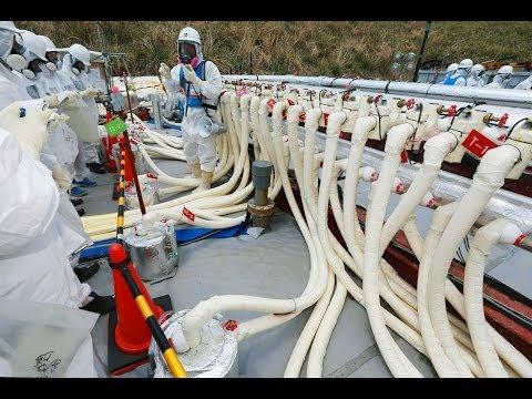 Fukushima, Japonia - Rozpoczęto budowę podziemnej bariery ze zmrożonej gleby 3