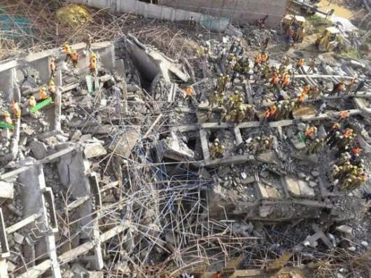 Indie - Katastrofa budowlana 2