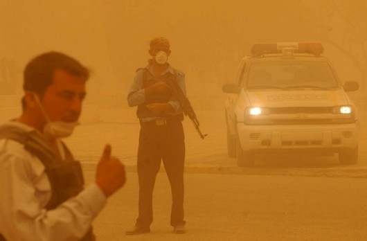 Iran - Burza piaskowa 2
