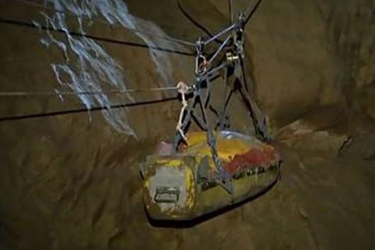 Niemcy - Po 12 dniach wydobyto z jaskini Riesending speleologa, w akcji brało udział łącznie 728 osób z pięciu krajów 2