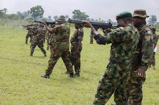 Nigeryjscy żołnierze