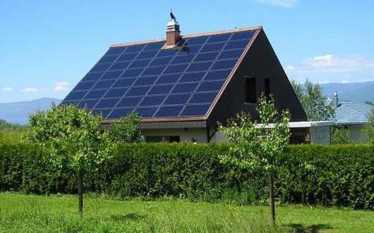 Panele słoneczne - dom