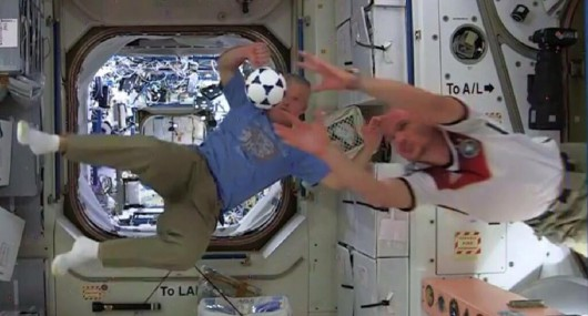 Piłka na ISS