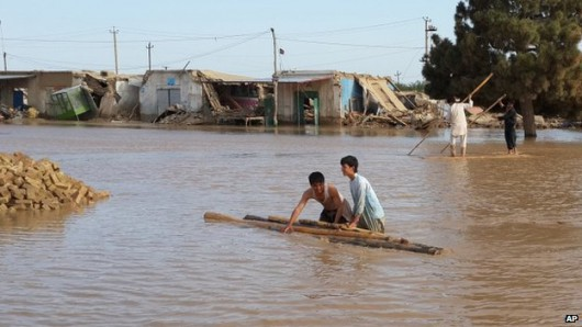 Powódź w Afganistanie 4