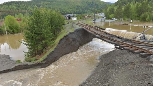 Rosja - Powódź na zachodzie Syebrii 2