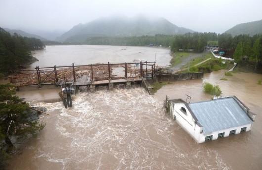 Rosja - Powódź na zachodzie Syebrii 4