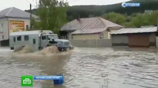 Rosja - Powódź na zachodzie Syebrii 5