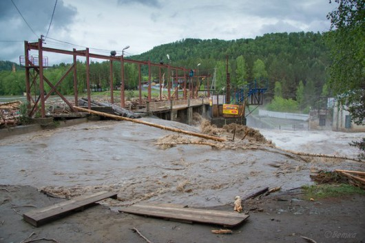 Rosja - Powódź na zachodzie Syebrii 6