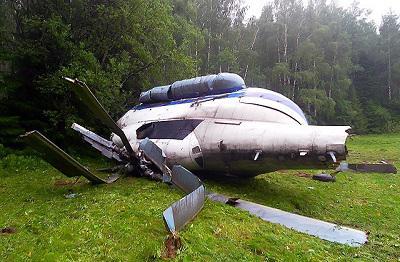 Rosja - Rozbił się śmigłowiec pasażerski Mi-8