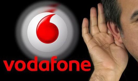Szpiegowanie przez sieć Vodafone