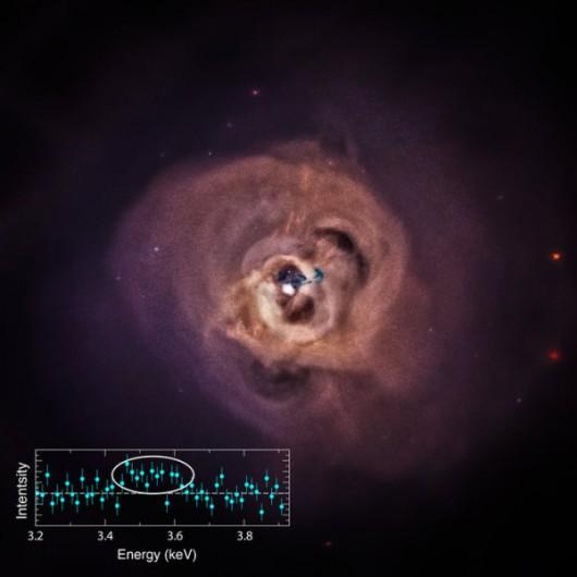 Tajemniczy skok w promieniowaniu rentgenowskim, zaobserwowany w gromadzie galaktyk w Perseuszu
