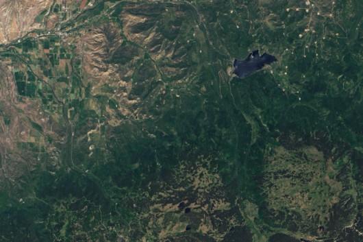 USA - Kolejne ogromne osuwisko w Kolorado, 5 km długie i 1.5 km szerokie 20 czerwca 2013